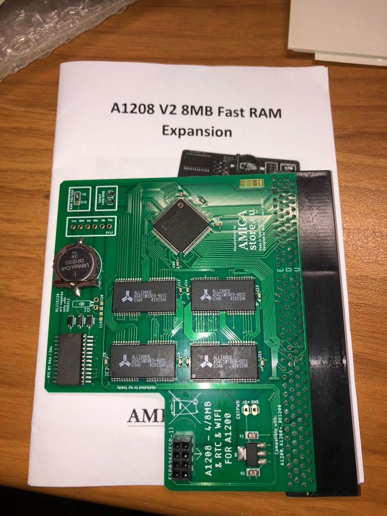 A1208 expansion card